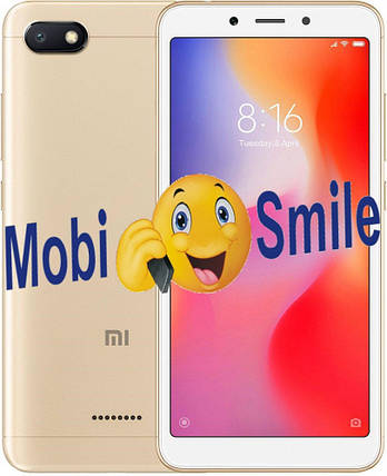 Смартфон Xiaomi Redmi 6A 2/32Gb Gold Global Version Оригинал Гарантия 3 месяца / 12 месяцев, фото 2