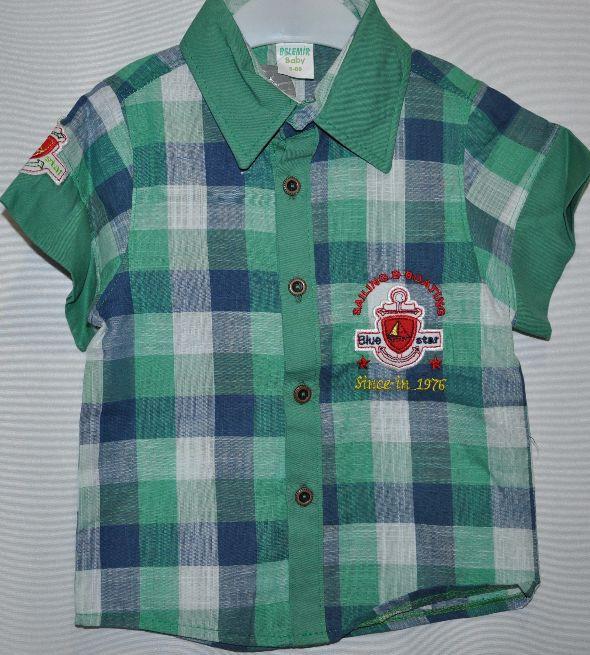 086603e129d Рубашка для мальчиков от 1-6 лет.Детская одежда оптом  продажа