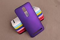 Пластиковый чехол для Asus Zenfone 2 ZE551ML фиолетовый