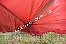 Прочный зонт торговый 2х3м с клапаном Прочный зонт для торговли на улице садовый Красный 351, фото 3