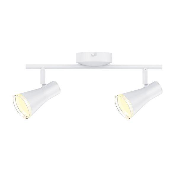 Спотовый светодиодный светильник (бра) MAXUS MSL-02C 2x4W 4100K Белый