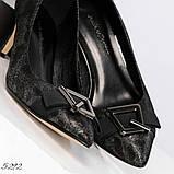 Эффектные, комфортные женские туфли лодочки с тиснением, фото 2