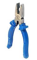 Плоскогубцы 180 мм с синими ручками (Sigma, Mastertool)
