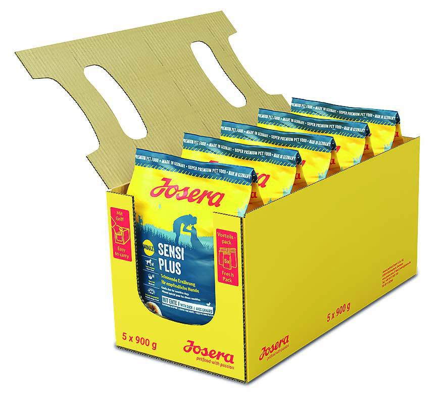 Josera SensiPlus 0,9 кг - гіпоалергенний корм для собак (качка і рис)