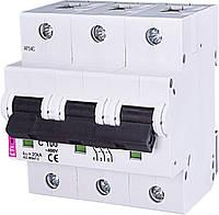 Автоматический выключатель ETIMAT 10  3p C 100А (20 kA) ETI