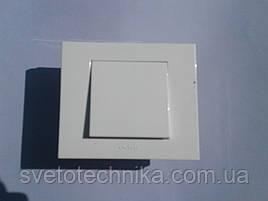 Выключатель одноклавишный Gunsan  (белый)