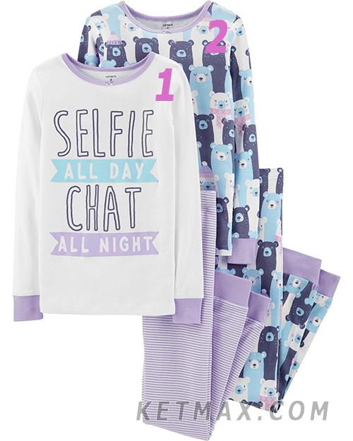 Пижамы Carter's для ltdjxrb поштучно