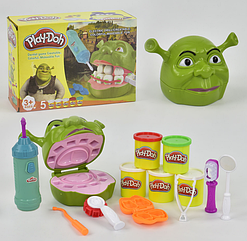 """Тесто для лепки 6612 Play-Doh Стоматолог Шрек """"Зубастик"""""""