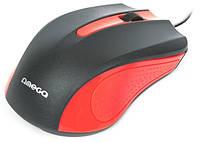 Мышь Omega OM-05R Red