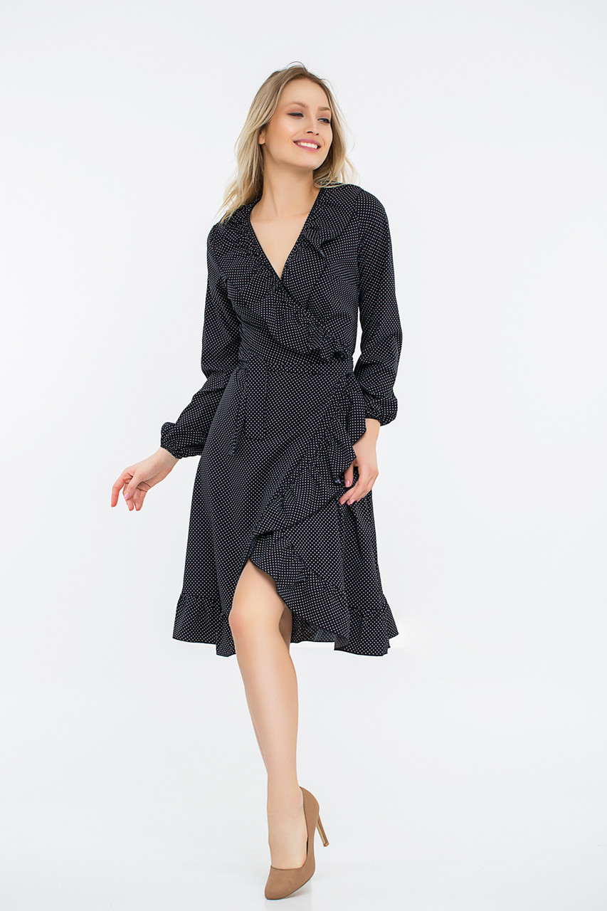 Платье LiLove 42-552 48-50 черный