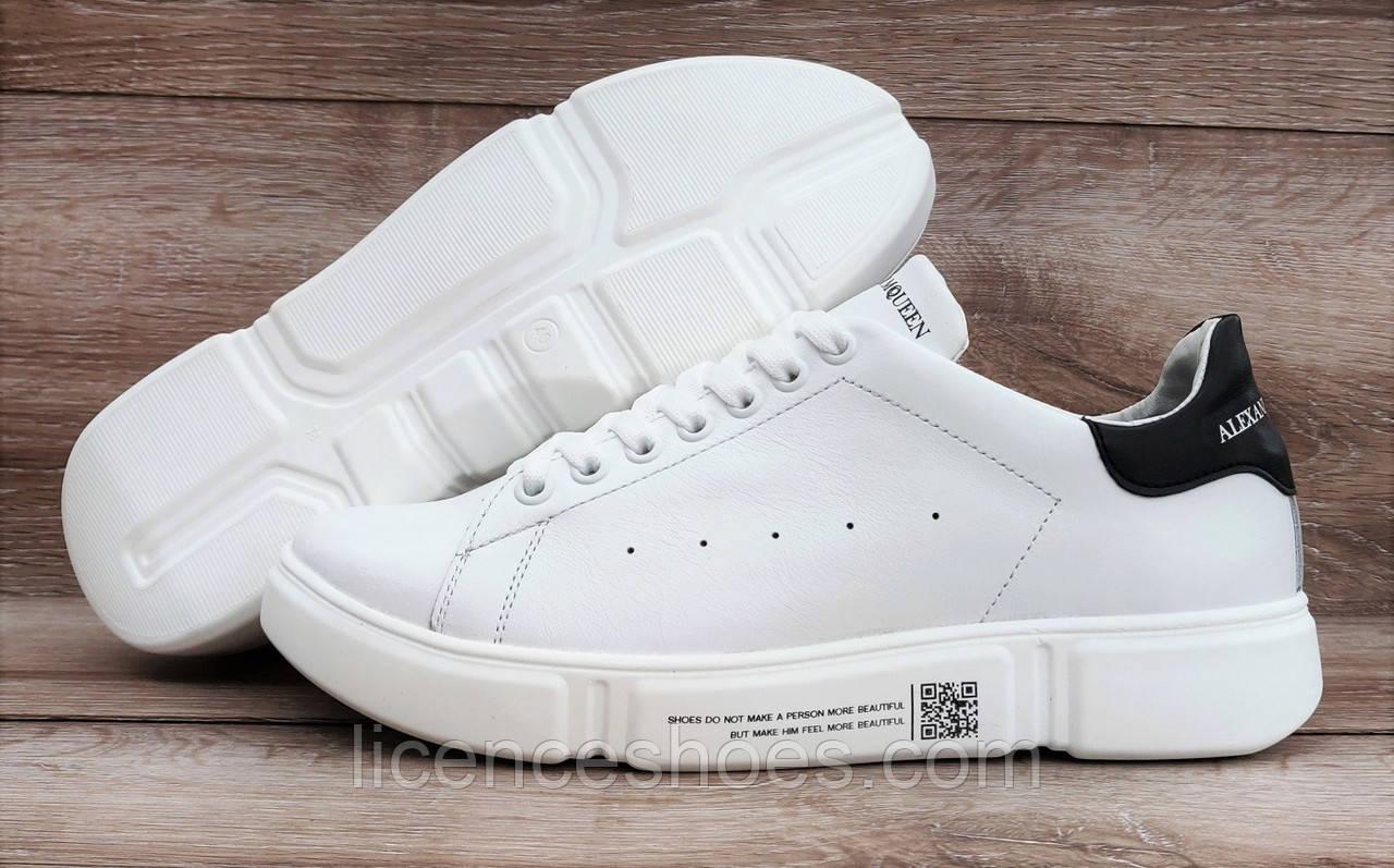 Женские кроссовки RoadStyle White. Натуральная кожа (Реплика ААА)