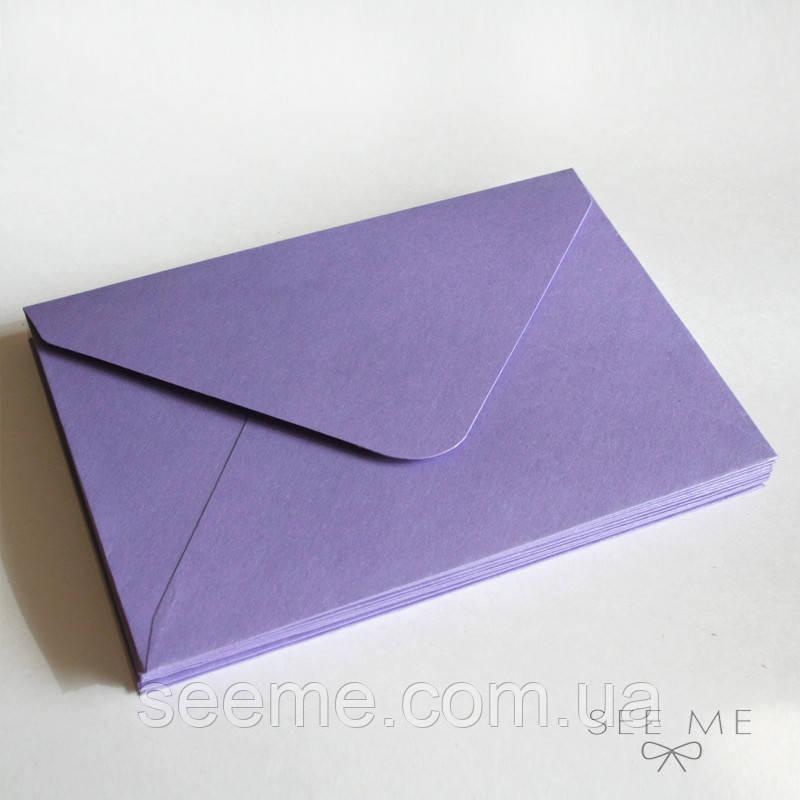 Конверт 162x113 мм, цвет лавандовый (lavender)