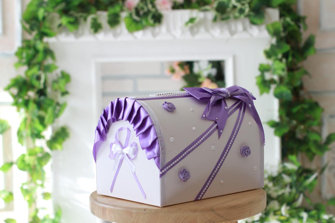 Сундучок свадебный для денег Bonita Виолетта