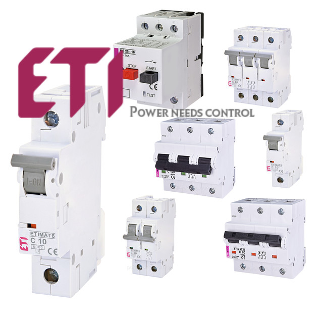 ETI Автоматические выключатели