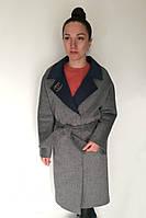 Пальто Oscar Fur  ПД-9  Серый