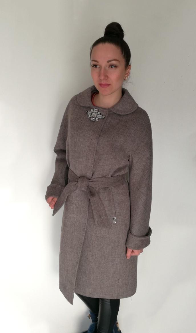Пальто Oscar Fur  ПД-11  Серый