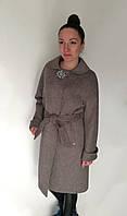 Пальто Oscar Fur  ПД-11  Серый, фото 1