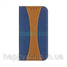 Чехол-книжка Goospery Canvas для Xiaomi Redmi 5 (Blue)