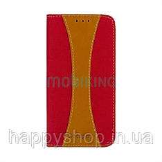 Чехол-книжка Goospery Canvas для Xiaomi Redmi 5 (Red)