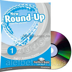 Английский язык / New Round Up / Teacher's Book+CD. Книга учителя, 1 / Pearson