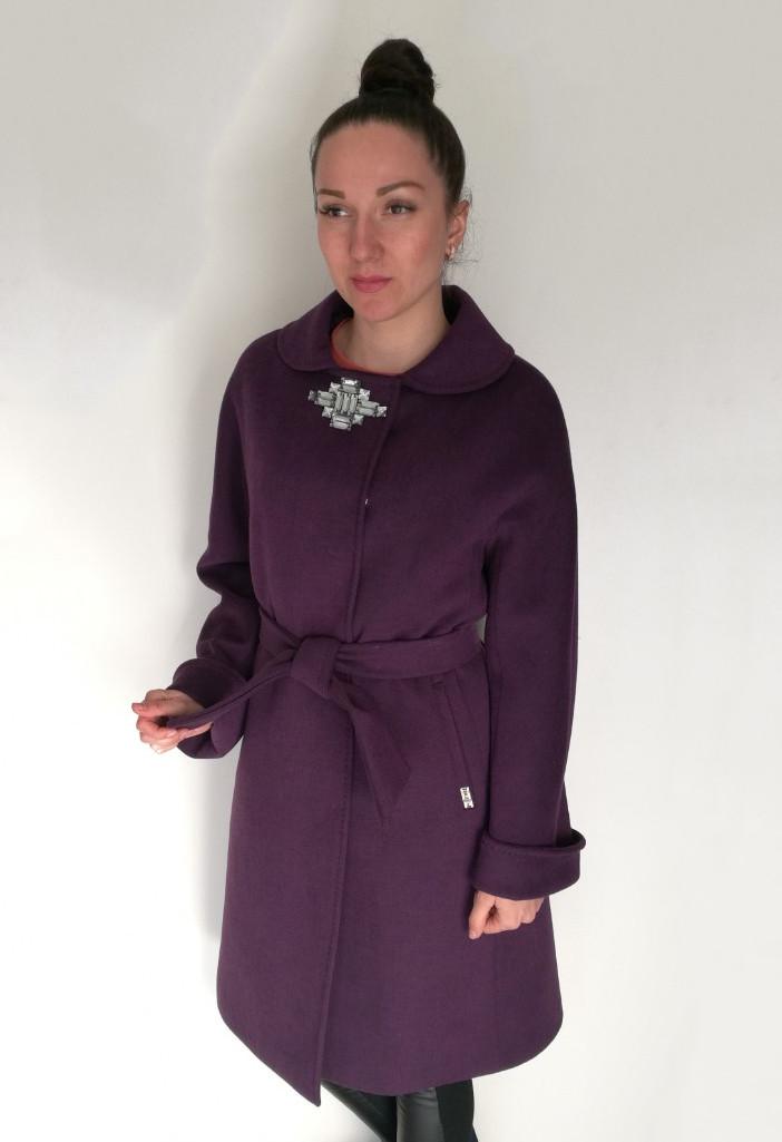 Пальто Oscar Fur  ПД-13  Фиолетовый