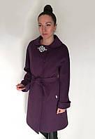 Пальто Oscar Fur  ПД-13  Фиолетовый, фото 1