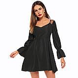 Платье с крылышками черный, фото 2