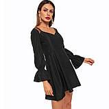 Платье с крылышками черный, фото 4