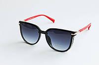 Солнцезащитные очки лисички синего цвета, фото 1