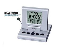 Часы электронные -7059, настольные +термометра