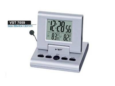 Часы электронные  говорящие7059-С , фото 2
