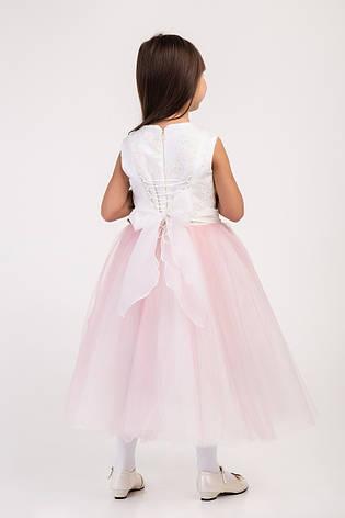 Красивое праздничное фатиновое детское платье, р.104-152, фото 2