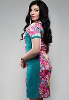 Стильное платье больших размеров 1529 Ян $