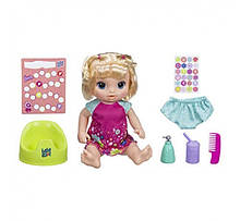 Интерактивная кукла Танцующая Малышка блондинка Baby Alive Potty Dance Baby