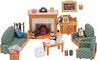 Гостиная 5037 мебель для гостиной и камин Sylvanian families