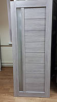 Межкомнатные двери Неман модель 01 дуб грей