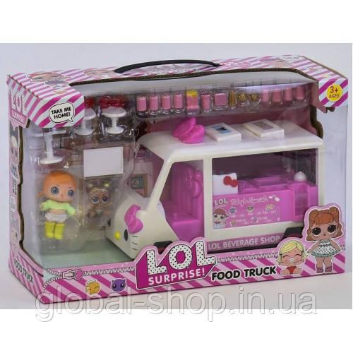 Детская игрушка передвижное кафе закусочная Lol K 5622