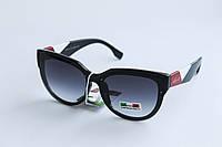 Солнцезащитные очки лисички фиолетового цвета, фото 1