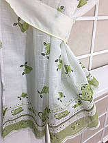 "Кухонные шторы ""Натюрморт"" Зеленый, фото 2"