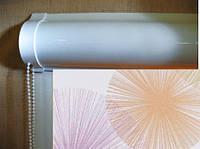 Ролеты тканевые (рулонные шторы) Salut Besta uni закрытый короб