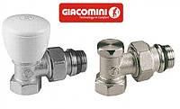 Кран радиаторный угловой 1/2 Giacomini (комплект верх R5X033 и низ R16X033)