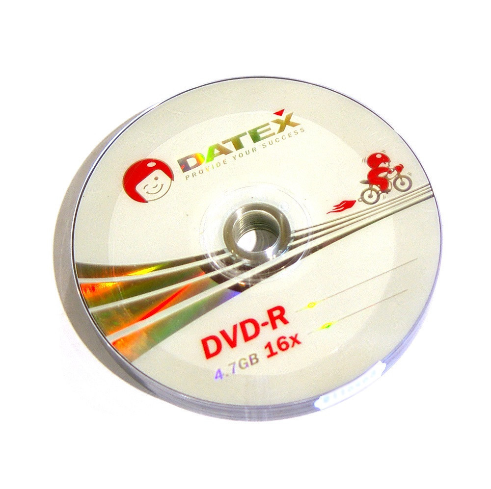 Диски DVD-R 10 шт. Datex, 4.7Gb, 16x, Bulk Box