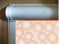 Ролеты тканевые (рулонные шторы) Ping Pong Besta uni закрытый короб