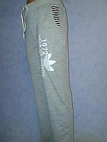 Спортивные брюки серые  трикотажные 1972