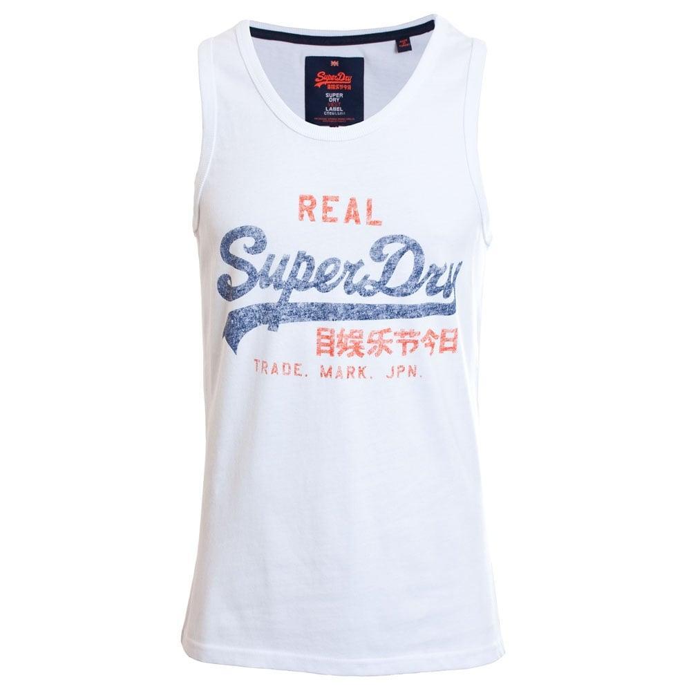 Оригинальная Майка Superdry Vintage Logo Duo Entry Vest M