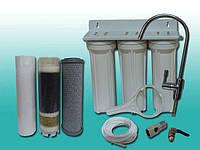 Фильтр для воды 3 ступени под мойку Aquakut FP-3