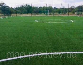 Монтаж искусственного поля  мини-футбол
