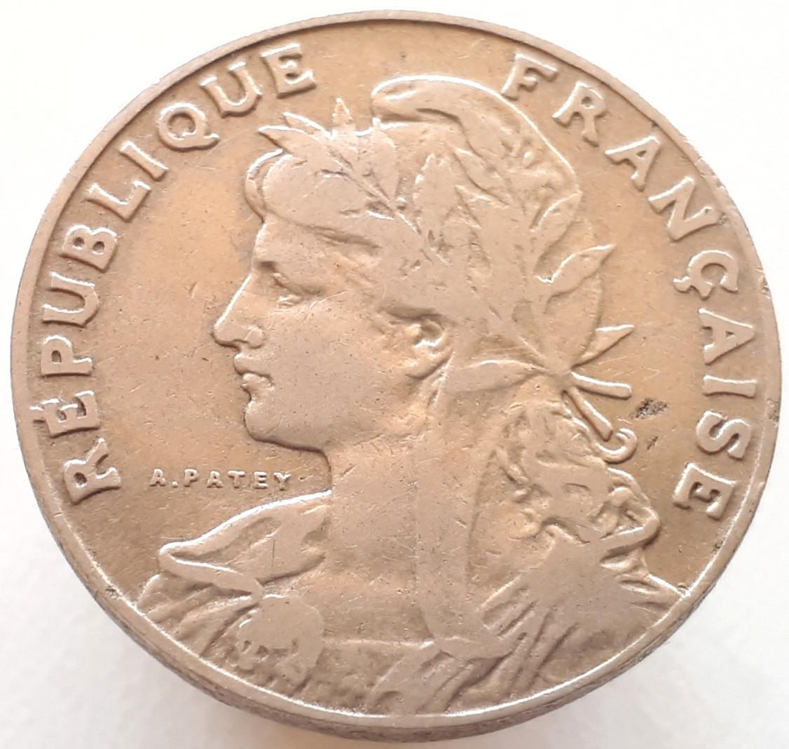 Франция 25 сантим 1905
