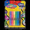 Витражные краски Colorino 6 цветов в тюбиках 10,5 мл  рисуют на стеклянных поверхностях