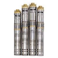 Шнековый насос для скважин и колодцев Sprut QGDа 1,5-120-1.1kW + пульт